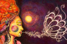 Breathing-Woman-awaken