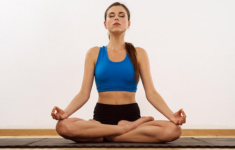 Easy Pose (Sukhasana)-awaken
