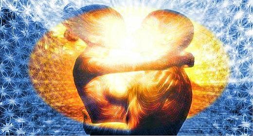 Open heart during spiritual sex