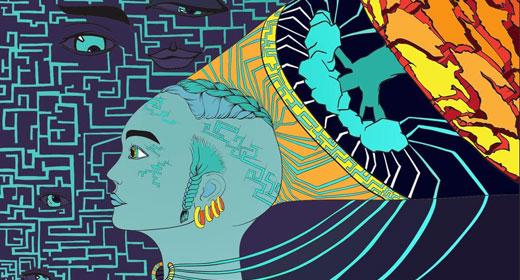 girl-future-neural-network-awaken