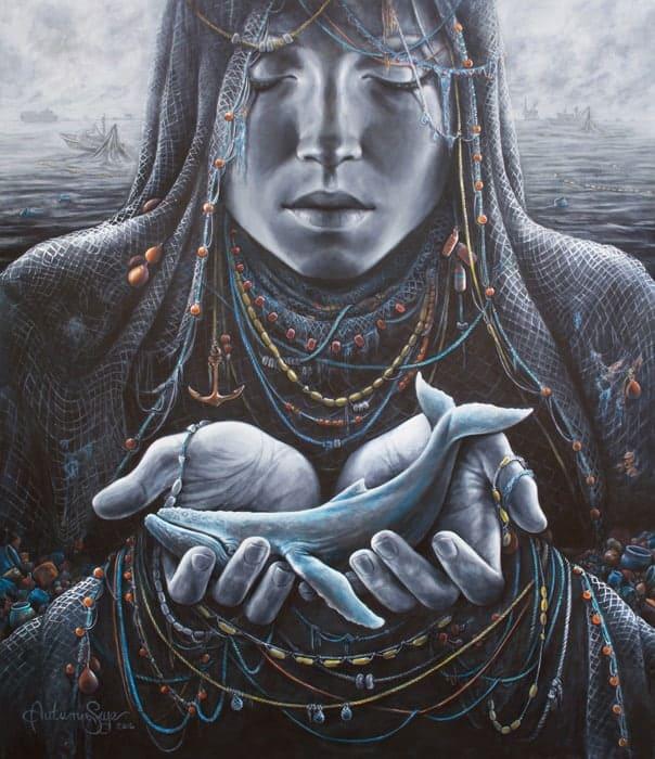 """Pieta"" by Autumn Skye Morrison"