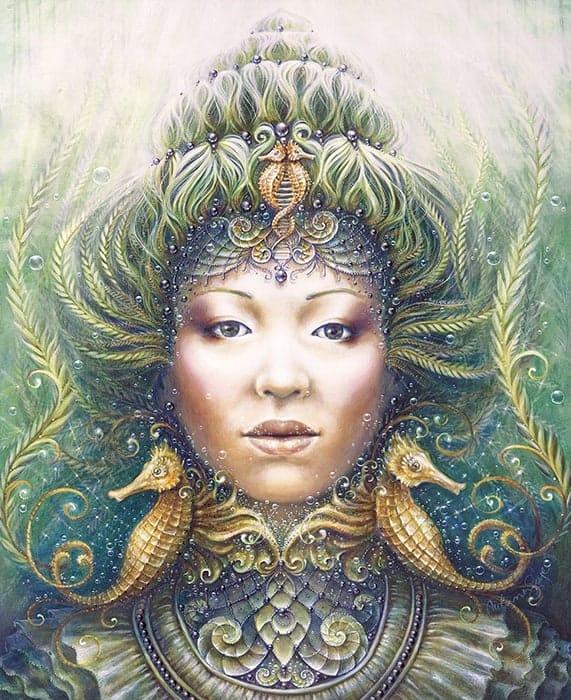 """The grace of Mer"" by Autumn Skye Morrison."