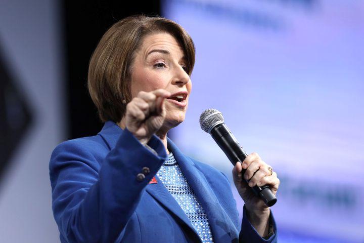 "Sen. Amy Klobuchar (D-Minn.) has said she'llintroduce ""sweeping"" emissions legislation within her first 100"