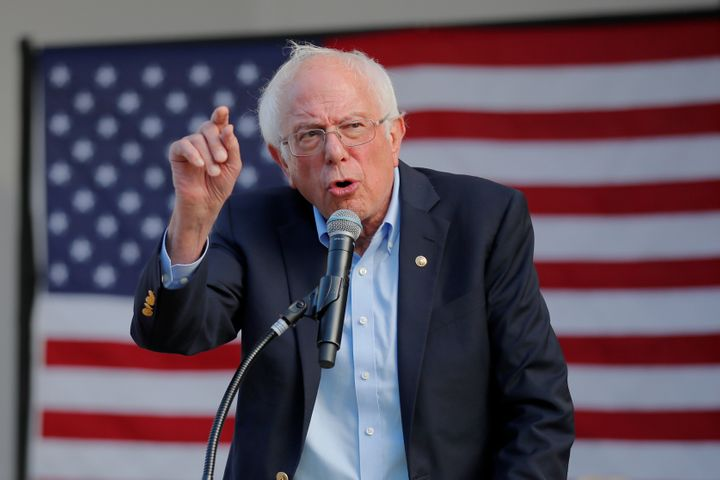 Sen. Bernie Sanders (I-Vt.) would use military cuts and tax hikes on the wealthy to pay for his climate plan.