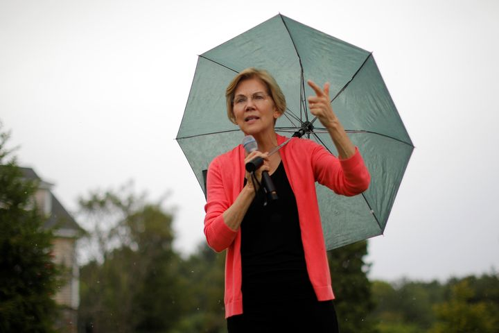 Sen. Elizabeth Warren (D-Mass.) has numerous plans rooted in her desire to eliminate the political influence of fossil fuel c