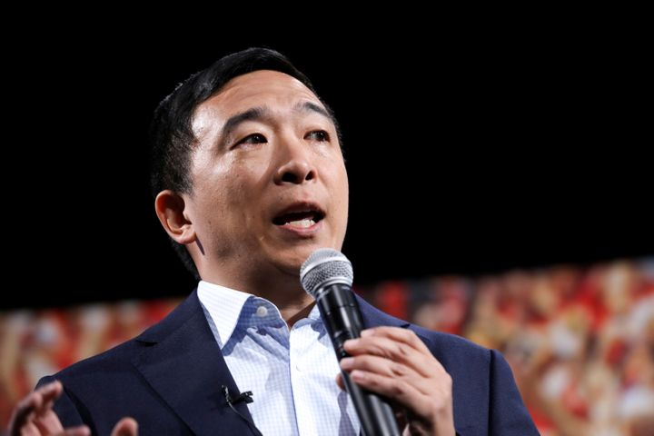 Andrew Yang is theonly major candidate to embrace geoengineering in his climate plan.
