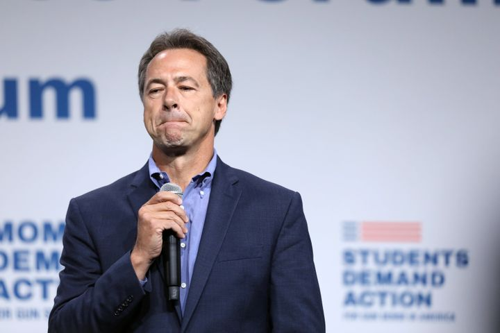 Montana Gov. Steve Bullock hasn't released a detailed climate plan and has the lowest climate rankings of any Democrat left i