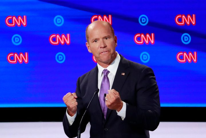Former Rep. John Delaney has proposed$5 billion annually for negative emissions technologies, including carbon capture,