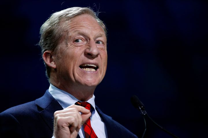 Tom Steyer, founder of NextGen Climate,would declare climate change a national emergency.