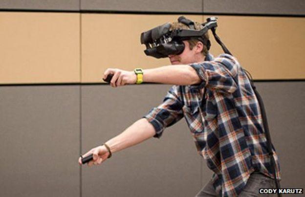 Virtual reality exercise