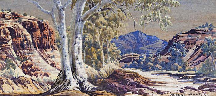 Albert-Namatjira Art