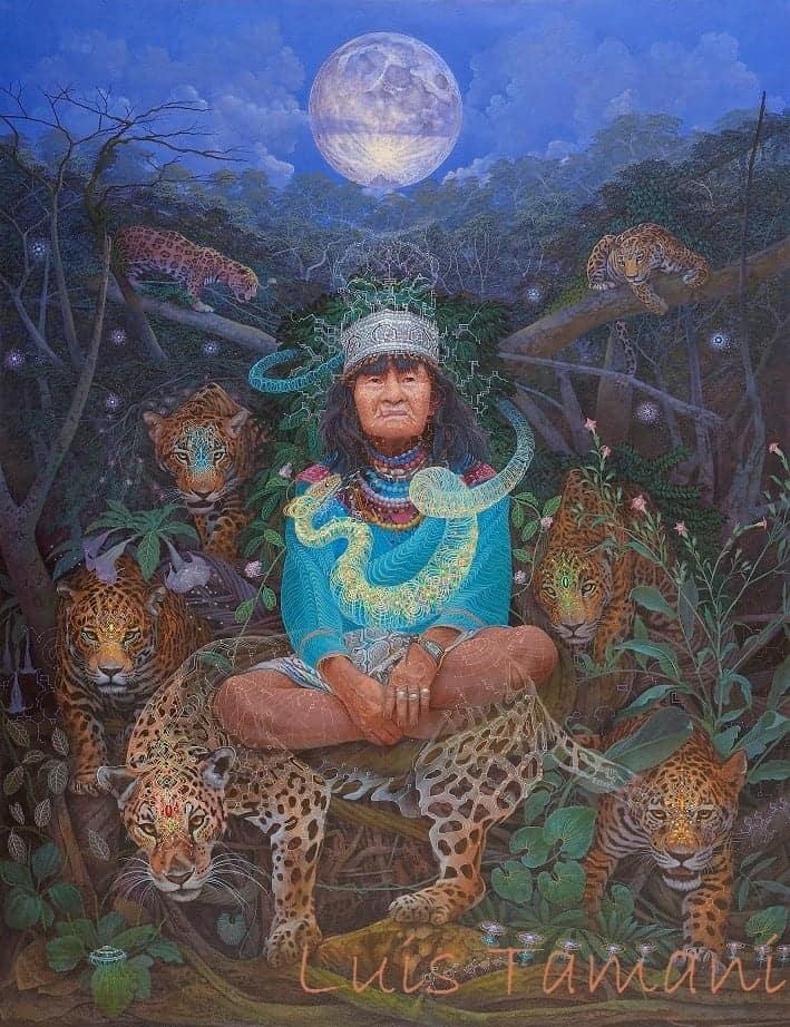 Guardianes Art of Luis Tamani