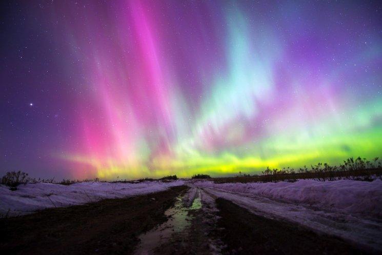 Murmansk Russia Northern Lights