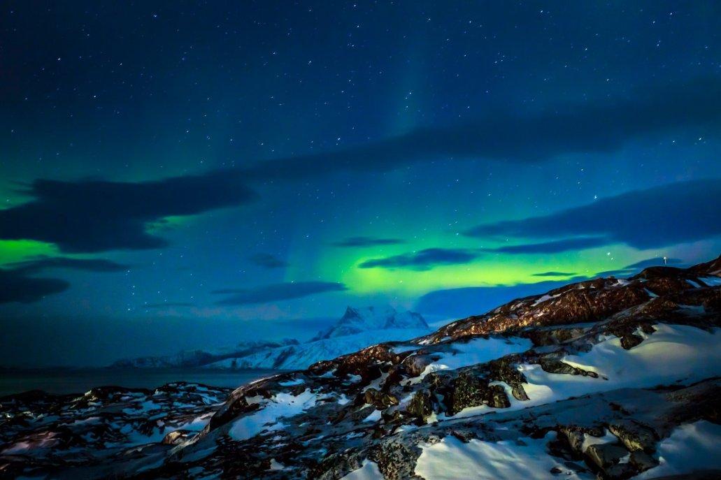 Northern Lights Nuuk Greenland
