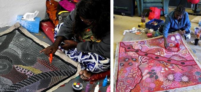 aboriginal indigenous painters