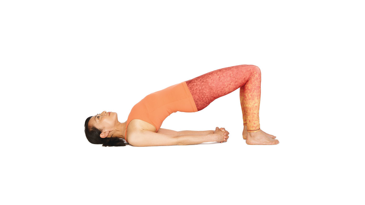 Image result for bridge pose