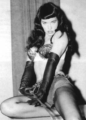 Bettie Page.