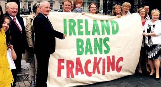 'We've Made History': Ireland Joins France, Germany Aand Bulgaria In Banning Fracking​