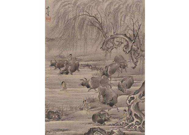 Buffalo-and-Herdsman-awaken