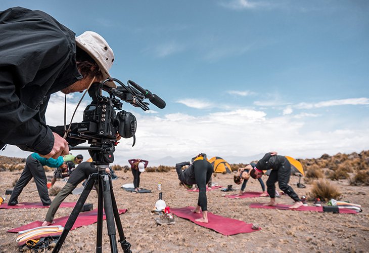 Yoga Chachani Mountain 3