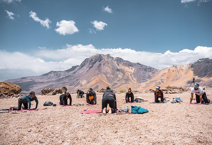 Yoga Chachani Mountain 5