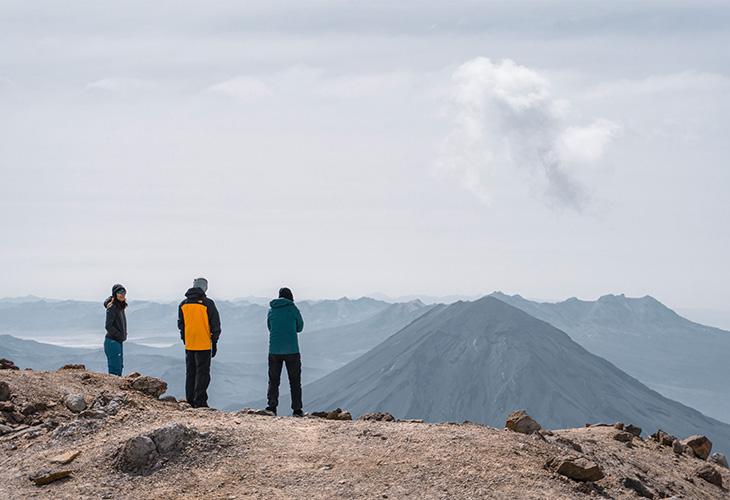 Yoga Chachani Mountain 6