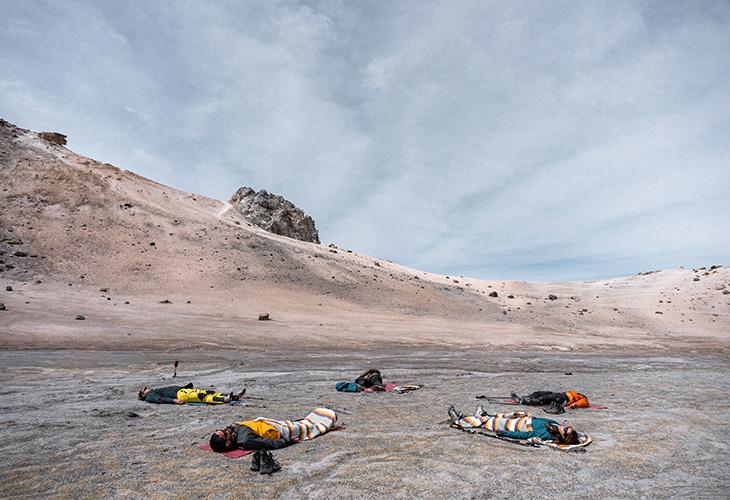 Yoga Chachani Mountain 9