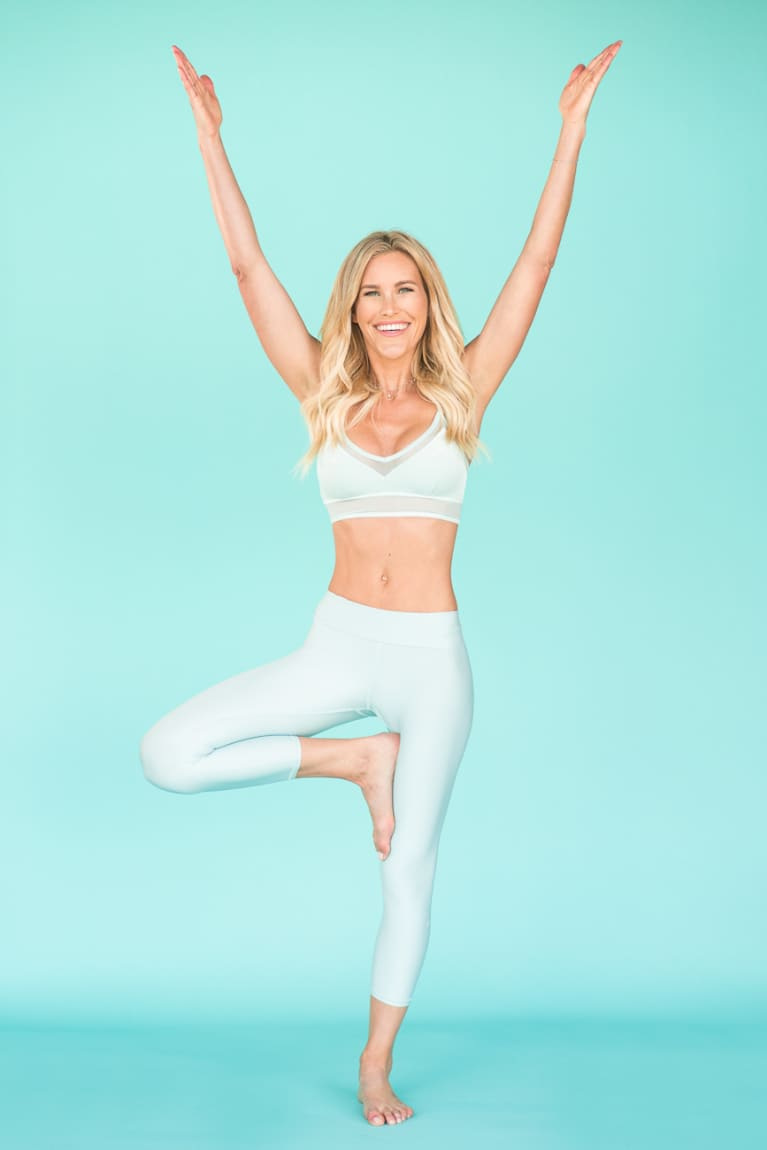 Claire Grieve Doing Tree Pose