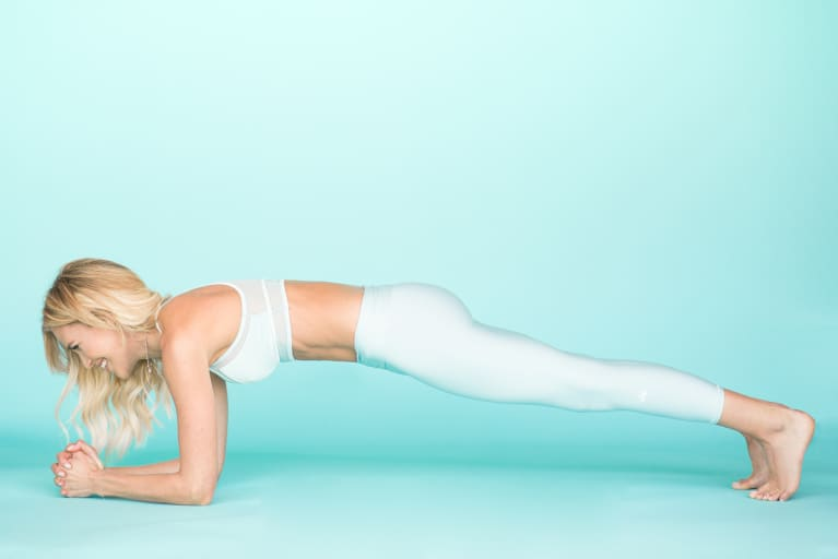 Claire Grieve in Plank