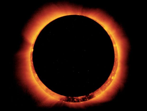 Solar eclipse-awaken