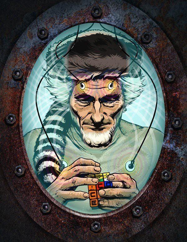 Mad scientist-awaken