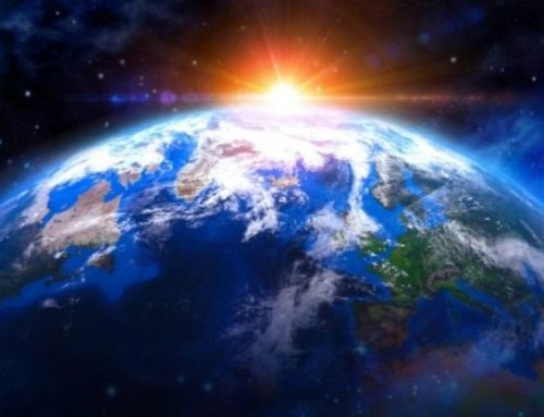 Mother Earth – Evolving To Be Part Material Form and Part Light, Iridescent and Transparent