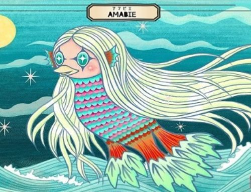 In Japan, Mythical 'Amabie' Emerges From 19th Century Folklore To Fight COVID-19