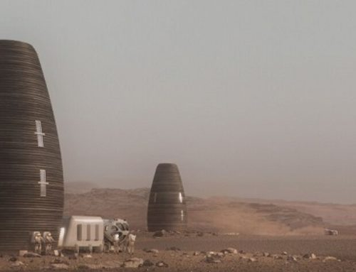 The 3D Printed Homes Of The Future Are Giant Eggs On Mars