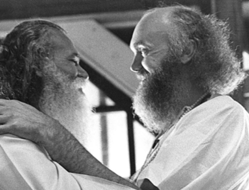 Sri Swami Satchidananda and Ram Dass
