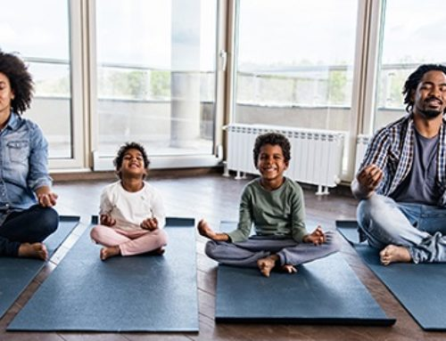 Why Practicing Yoga And Mindfulness With Your Dad Can Benefit You Both