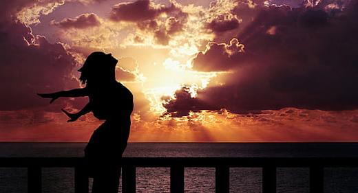 woman-happiness-sunrise-silhouette-awaken