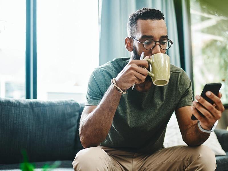 awaken-Drink coffee or tea