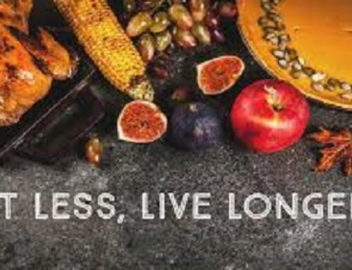 Eat Less, Live Longer