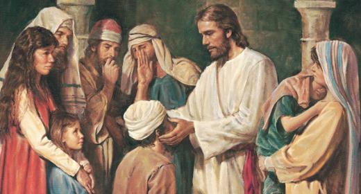 Jesus-giving-Love-to-children-awaken