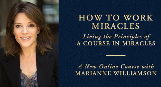 My journey to A Course in Miracles - Marianne Williamson-awaken