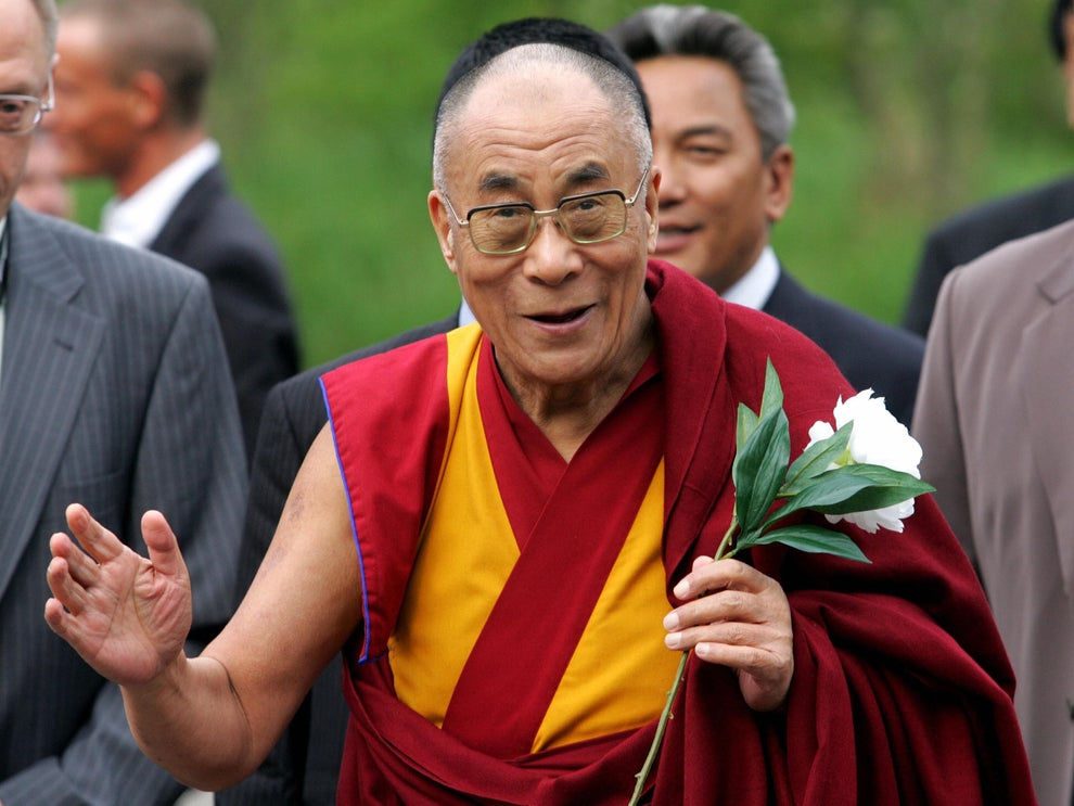 'This beautiful blue planet is our only home': Dalai Lama makes a 'climate appeal' to the world
