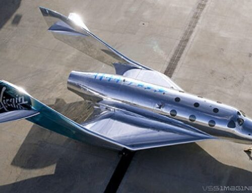 Virgin Galactic Has Just Unveiled A Very Shiny Space Plane