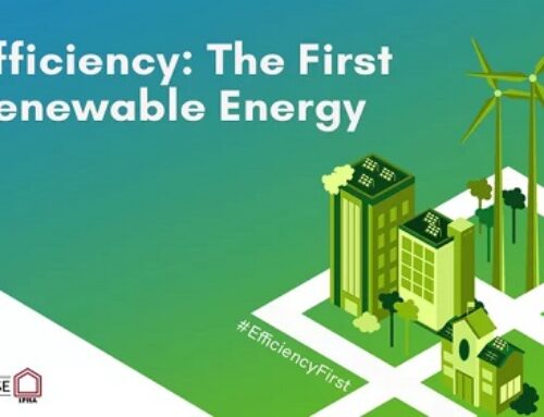 Efficiency: The First Renewable Energy