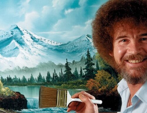 Why It's Nearly Impossible To Buy An Original Bob Ross Painting