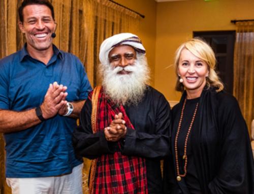 Karma, Consciousness, and Freedom – Sadhguru with Sage and Tony Robbins