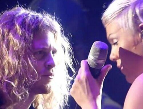 Pink – Led Zeppelin – Babe I'm Gonna Leave You – Live