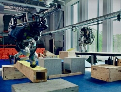 Watch Boston Dynamics' Atlas Robot Crush a New Parkour Course