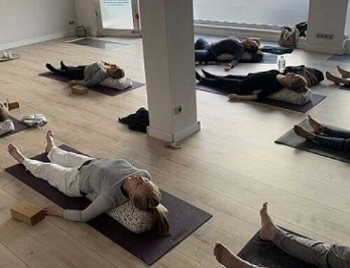 Why Restorative Yoga Is The New Power Yoga.